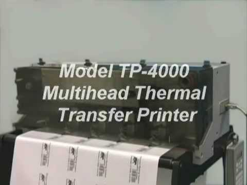 Result Group - Multihead Thermal Printer by Allen Coding Systems