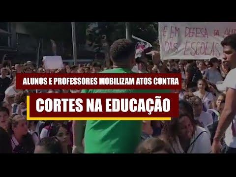 GREVE DA EDUCAÇÃO: Contra os cortes do MEC e rumo à greve geral