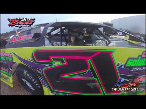 21 Jason Lively  Super Late Model  2318 Boyd's Speedway  In Car Camera