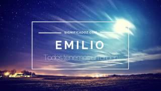 Emilio - Significado del Nombre Emilio