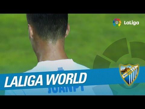 Resumen de Málaga CF (4-1) NPFL All Star de Nigeria