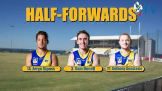Round 16 Team Announcement vs Port Melbourne
