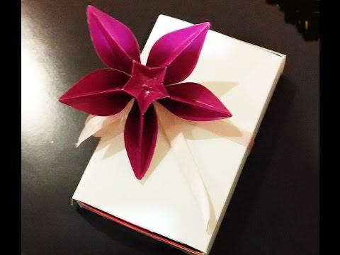 Origami flower Carambola