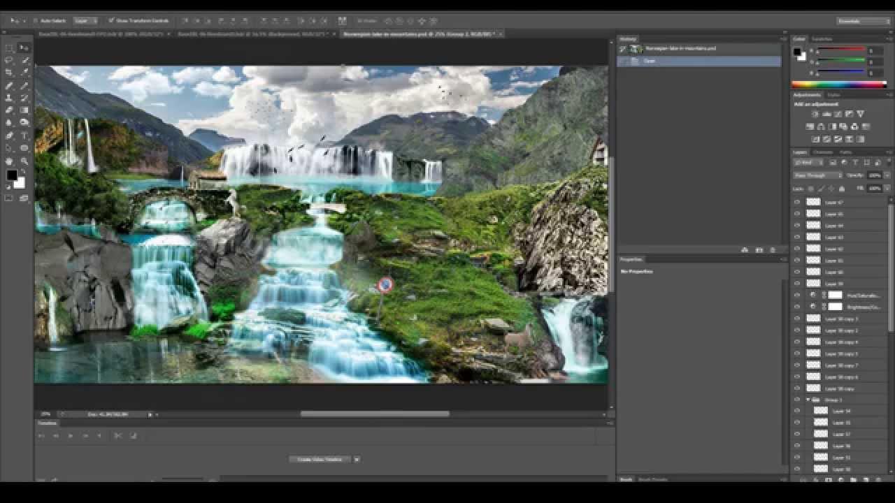 future nature complete art graphic design photoshop