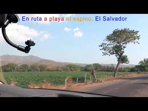 Ruta A Playa El Espino, Depto, De Usulutan, El Salvador.