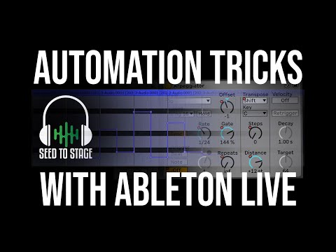 Ableton Automation Tricks