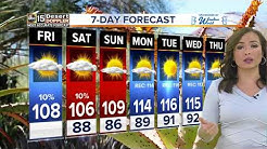 Thunderstorms possible in Arizona today
