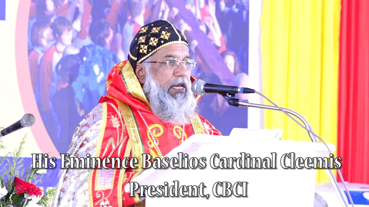 ICYM - National Youth Convention 2017 Homily by H  E  Baselios Cardinal  Cleemis