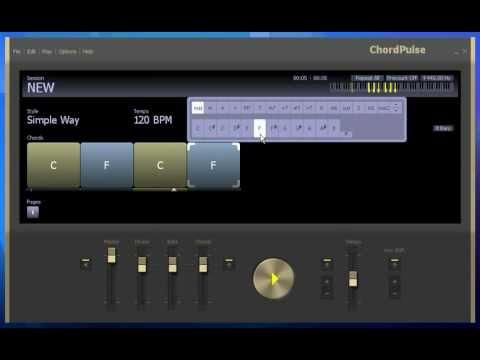Komponieren und Üben am PC mit ChordPulse Musik Programm
