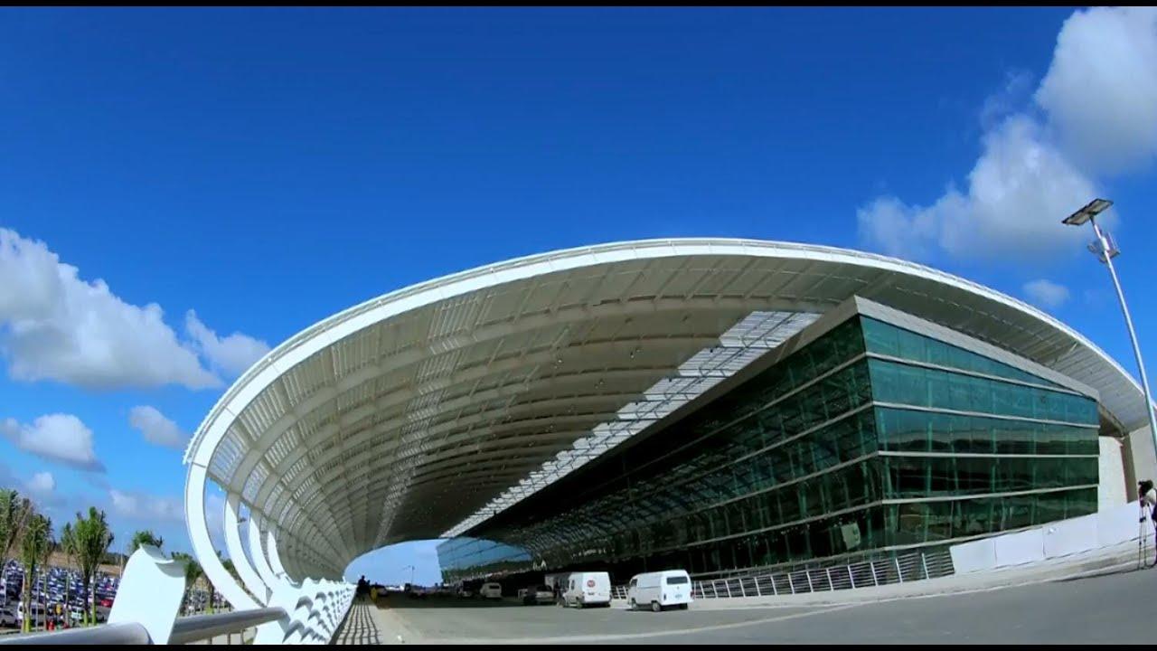 Aeroporto De Natal : Novo aeroporto de natal embarque no futuro youtube