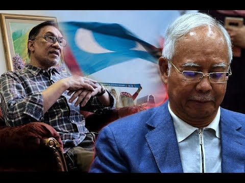 Anwar says a totally shattered Najib called him twice on election night