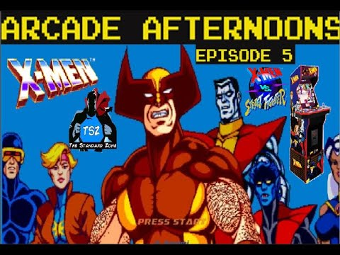 X-Men | X-Men vs Street Fighter | Arcade1Up Arcade Cabinet? | X-Men Arcade | Arcade Afternoons Ep. 5 from The Standard Zone