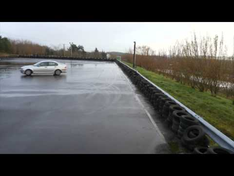 Skid Control Experience at Knockhill