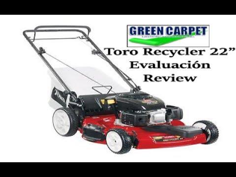 Evaluación De Podadora Toro Recycler De 22 Pulgadas