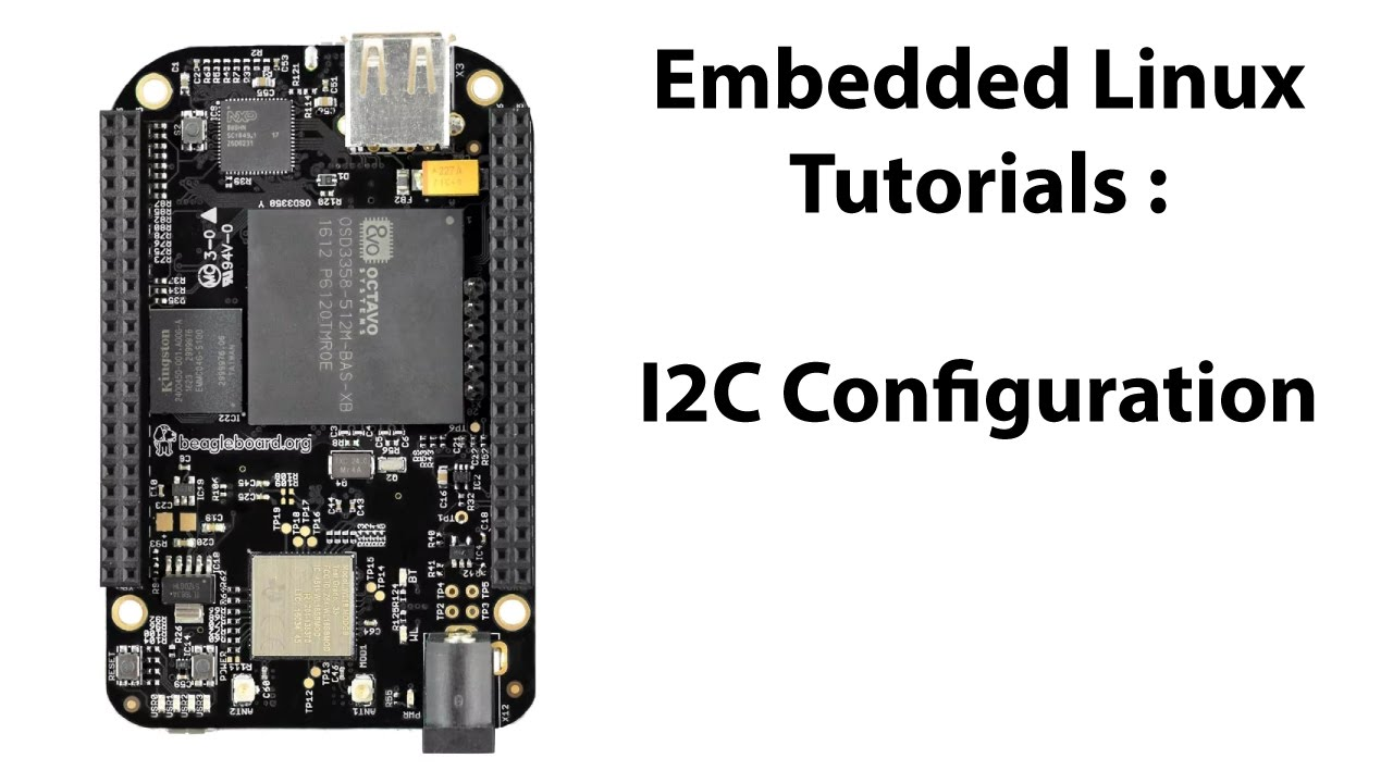 BeagleBone Black I2C Pin Configuration