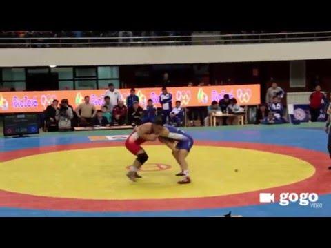 Mongolian Wrestling Championships 2016
