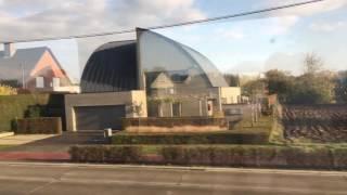 Поезд Брюссель-Брюгге.