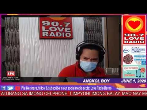 Love Radio Davao Fm 90.7 June 1 2020 #1