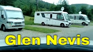 Road Trip to Glen Nevis Caravan & Campsite Fort William Scotland