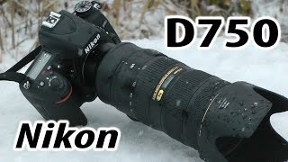 Nikon D750: обзор полнокадрового зеркального фотоаппарата