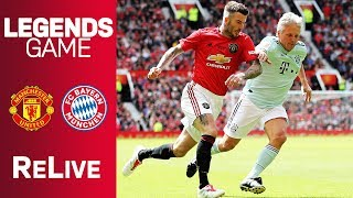 Manchester United vs. FC Bayern Legends 5-0 | Full Game | New edition of Champions League final 1999