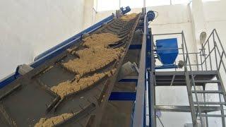 Ленточный конвейер / Belt conveyor(Ленточный конвейер предназначен для транспортировки сыпучих материалов в горизонтальном и наклонном..., 2012-06-18T15:20:26.000Z)