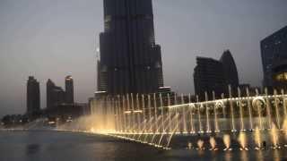 Поющие фонтаны в Дубаи - Видео 3(Танцующий (Поющий) Фонтан в Дубае — один из самых высоких фонтанов в мире, расположен на 30-акровом искусстве..., 2013-09-27T13:36:47.000Z)
