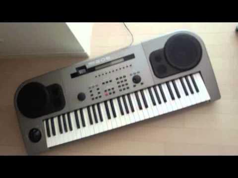 YAMAHA EOS B500でTMNの「Crazy for you(インストVer)」を打ち込み