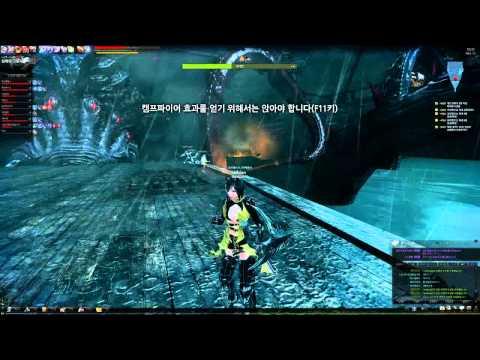 Mabinogi Heroes - Vindictus - Level 70-80 Kraken, 9人 Play.avi