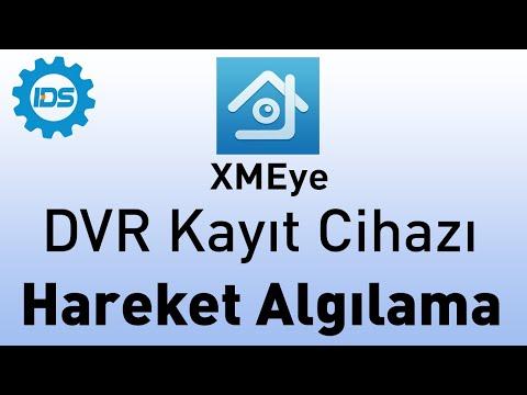 DVR Kayıt Cihazı Hareket Algılama Ayarları - XMEYE