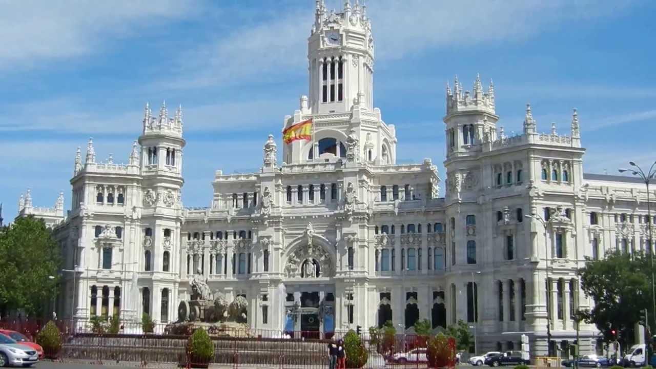 Palacio De Comunicaciones Plaza De Cibeles Madrid Spain