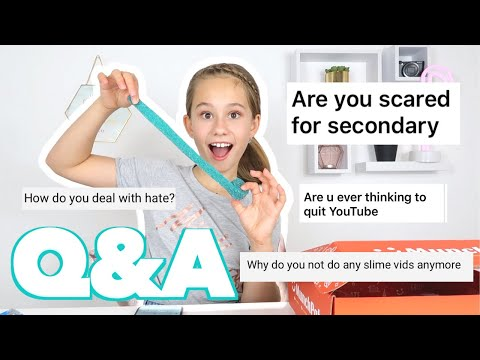 ANSWERING YOUR QUESTIONS & EATING UNUSUAL SNACKS   Q&A *STARTING SECONDARY/HIGH SCHOOL