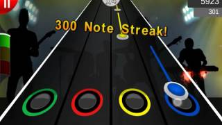 Red Hot Chili Peppers Otherside Guitar Flash Android Gameplay