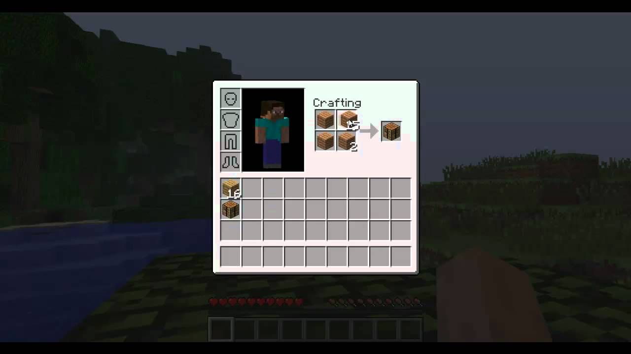 How to make a shovel in Minecraft 67