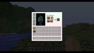 Minecraft - How to make Wooden Axe, Pick Axe, Shovel, and Hoe