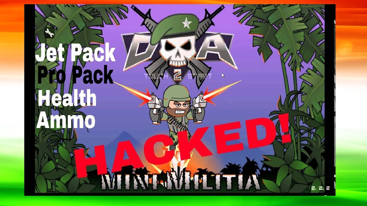 mini militia wall hack and unlimited health and ammo download