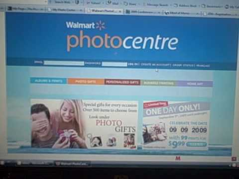 how do i check my order status on the walmart photo centre site youtube. Black Bedroom Furniture Sets. Home Design Ideas