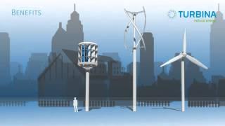 SYENERGY   Вертикальные ветрогенераторы Turbina Energy(Малые ветряные турбины Turbina Energy AG являются лучшим выбором для обеспечения экономного и независимого энерго..., 2015-10-29T16:19:06.000Z)