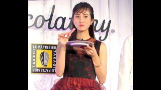 モデルで女優の堀田茜(25)が18日、都内でキットカット専門店「キ...