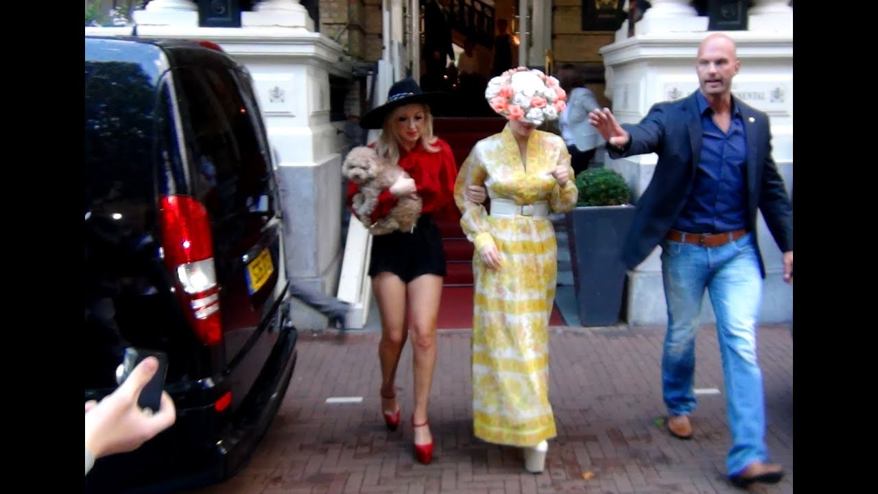 Lady Gaga In Amsterdam Amstel Hotel 150 Jaar Youtube