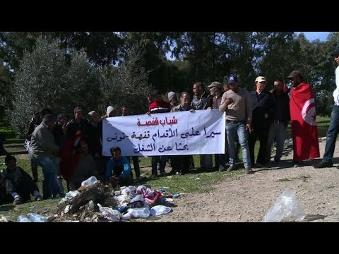 Tunisians in 400km march to call for end to unemployment