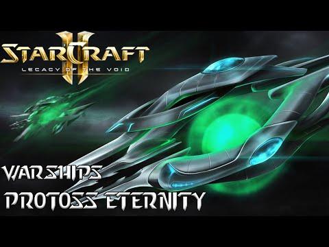 Warships - Protoss Eternity - Starcraft 2 mod