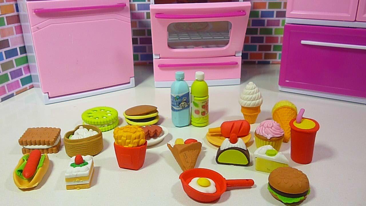 Comida No Tienen Para Muñecas En Ken Hambre La barbie Y Encuentran Cocina Miniatura I7g6Yfybv