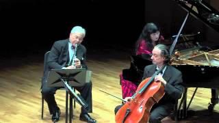 Brahms: Trio in a minor, op. 114 III. Andante grazioso