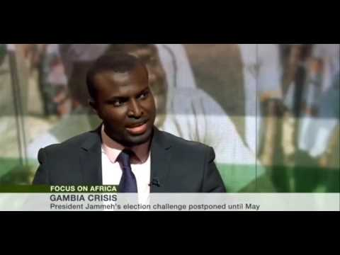 THE GAMBIAN HUMAN RIGHT LAWYER YANKUBA DARBOE INTERVIEW  ON BBC