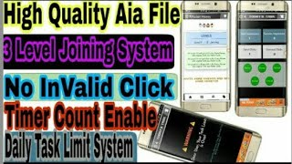 Earning App Aia File Thunkable Bangla
