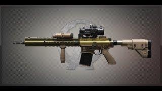 A.V.A 戰地之王 H&K G28 Assaulter Recoil Test 彈道測試