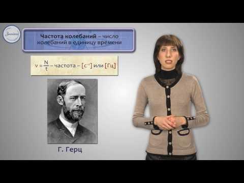 Физика 9 класс. Характеристики колебательного движения.  Гармонические колебания