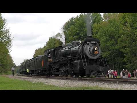 Thunder in the Poconos (with Canadian National #3254)