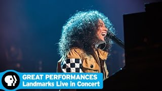 GREAT PERFORMANCES | Landmarks Live in Concert - Chad Smith Interview with Alicia Keys | PBS